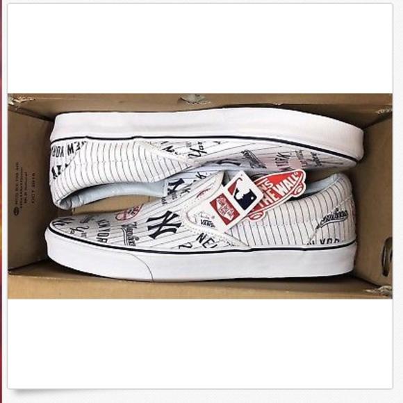 Vans Shoes | Classic Slip On Mlb New